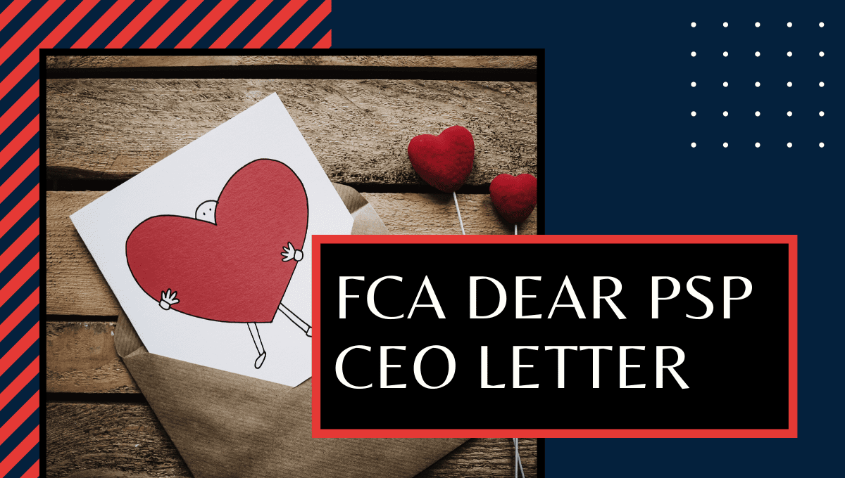 FCA Dear CEO Portfolio Strategy Letter for PSPs and e-money issuers