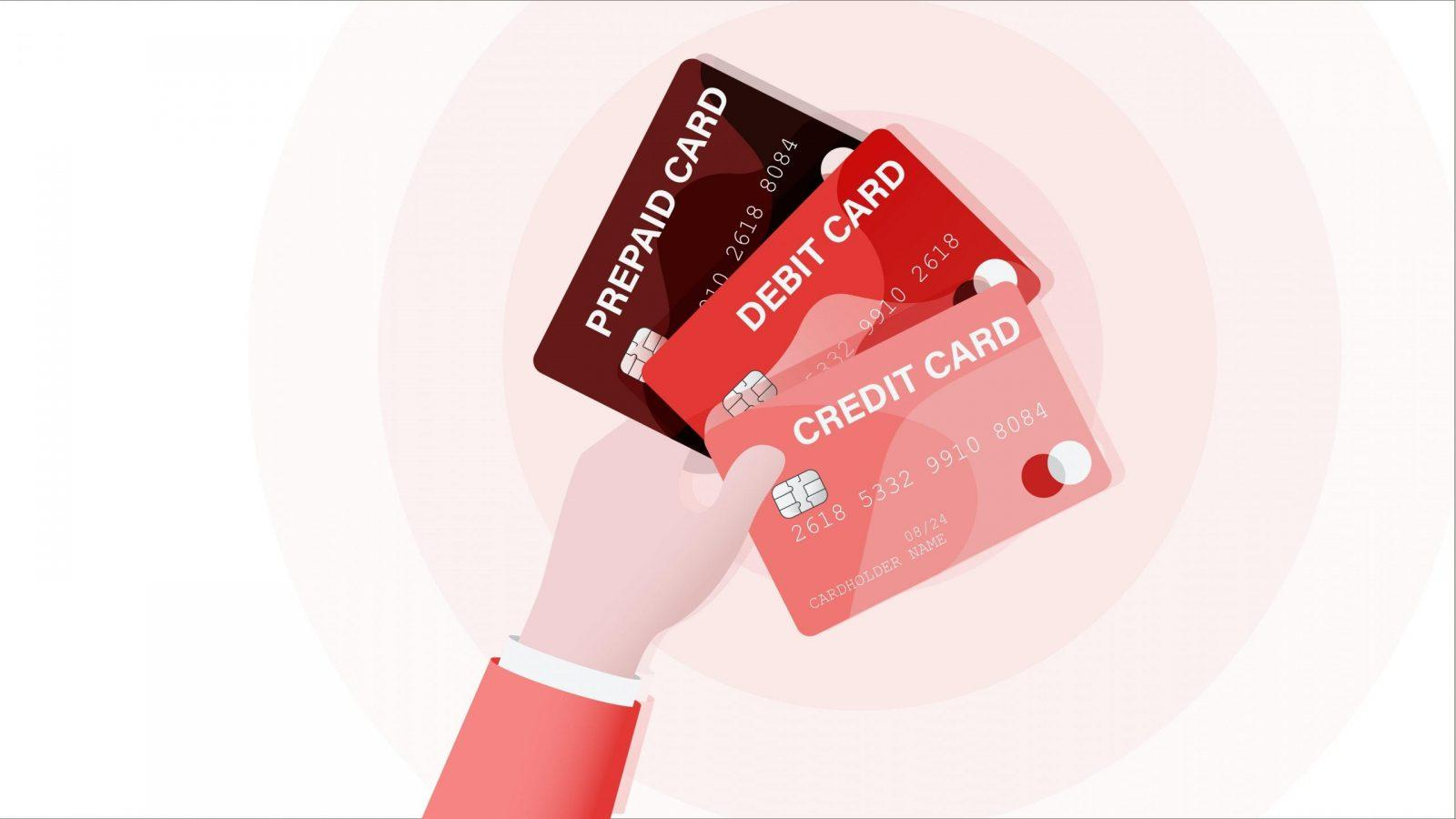 What are the different payment card types?